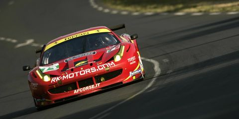 The team of Michael Waltrip, Rob Kauffman, Rui Aguas and Travis Pastrana is set to compete in the Rolex 24 this weekend.