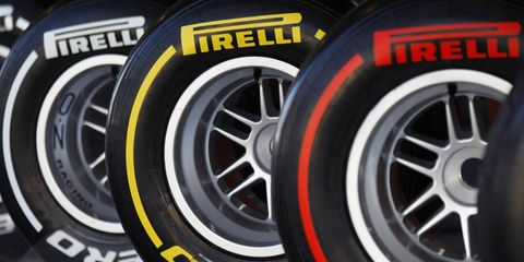 Pirelli will produce four dry-weather compounds, an intermediate and a wet-weather tire for Formula One in 2012.