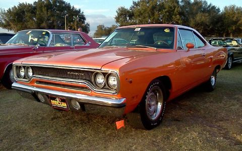 The top seller was this Road Runner, it crossed the block for $90,000