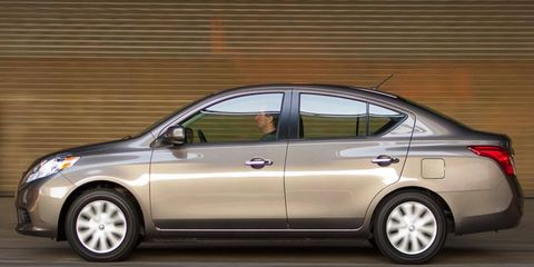 The redesigned Nissan Versa sedan is a likely candidate for the automaker's new assembly plant in Mexico.