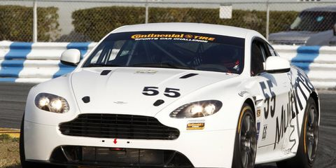 Aston Martin Racing has paired with Toronto-based Multimatic Motorsports to enter a pair of Vantage GT4s in the Grand-Am series.