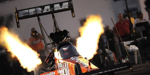 FRAM automotive will continue to be the Official Filter of NHRA, while sister brand Prestone will continue its status as the Official Antifreeze/Coolant of NHRA.