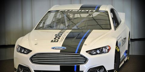 The process behind developing the 2013 NASCAR Fusion was much different than with some of the previous models when race teams actually built and designed the car.