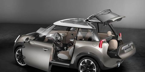 The Mini Rocketman concept apparently won't become a production car.