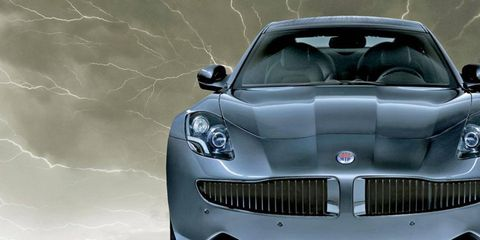 Fisker Automotive has started delivering its $103,000 Karma hybrid sedan to buyers.