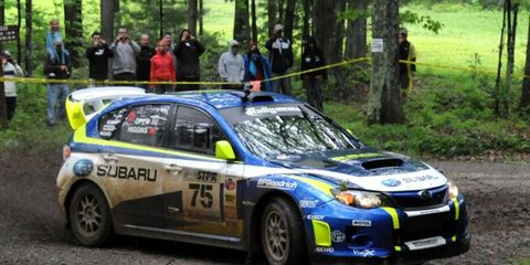 The Subaru Rally Support Program  offers more than $20,000 for Subaru drivers at each Rally America National Championship event.