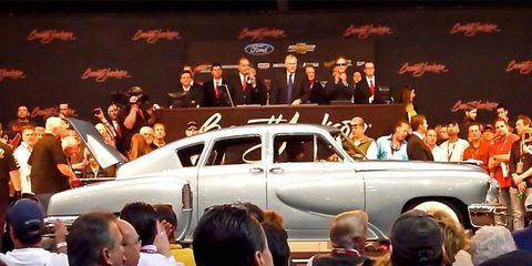 A 1948 Tucker Torpedo takes top-spot at Barrett Jackson selling for $2.9 million.