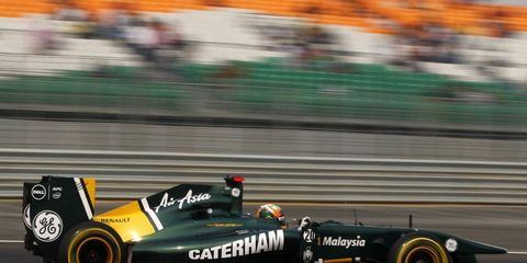 Karun Chandhok spent last season as a test driver for Lotus in Formula One.