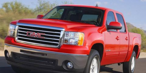 GM wants to put more distance between the GMC Sierra, shown, and the Chevy Silverado.