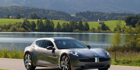 Plug In America spent an hour this week on the web explaining EVs. Shown is the Fisker Surf.