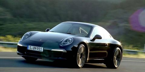 The three-minute clip provides a visual history lesson of all things Porsche, both on the road and on the track, as an evolving shell of its latest 911 displays iconic images and clips.