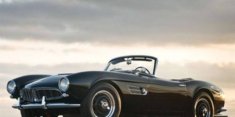 This Series II 1959 BMW 507 roadster sold for $990,000. It is one of 251 ever made.