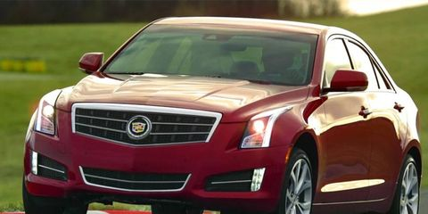 The all-new Cadillac ATS tackles the Green Hell in Super Bowl ad.