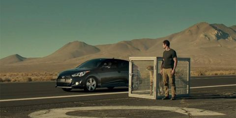 Hyundai is touting performance in its Super Bowl ads.