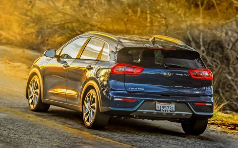 The 2017 Kia Niro may be classified as a compact crossover, but Kia is adamant that the vehicle is a Prius fighter.