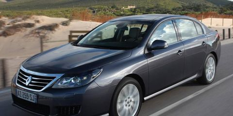 The Latitude, Renault's current flagship sedan, is built by Samsung Motors in Korea.