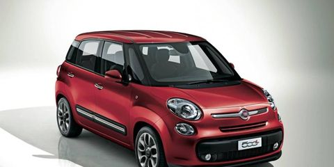 The Fiat 500L will be produced in Serbia and will arrive in the United States in 2013.