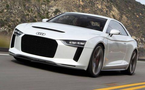 Tire, Automotive design, Vehicle, Land vehicle, Grille, Car, Rim, White, Automotive lighting, Personal luxury car,
