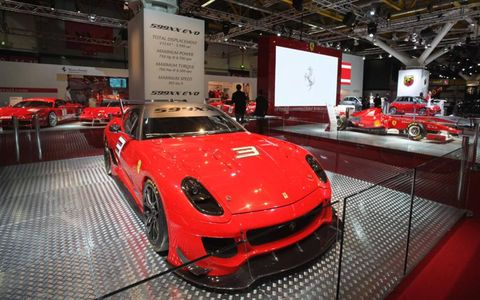 Ferrari added more power and subtracted weight from the 599XX Evo