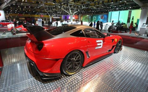 The Ferrari 599 Evo dropped a full second off the original 599XX's time on Fiorano