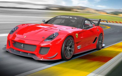 A rendering of the original 599XX