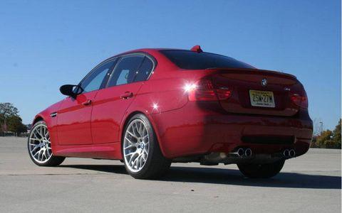 Driver's Log Gallery: 2011 BMW M3 Sedan