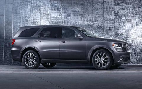 The 2014 Dodge Durango R/T produces 360-hp and 390 lb-ft of torque.
