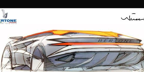 A sketch of the Bertone concept set for Geneva is shown.