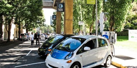 Mitsubishi i electric vehicles could be eligible for a $10,000 incentive under President Barack Obama's new budget plan.