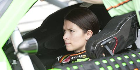 Danica Patrick said that Thursday's crash at Daytona was different than anything she felt in an Indy car.