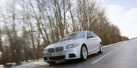 This wicked diesel M sedan is unlikely to come to the U.S. market.