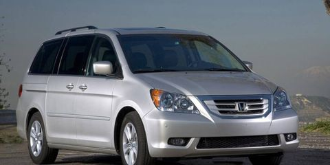 Some 45,800 examples of the 2008 and 2009 Honda Odyssey are being recalled.