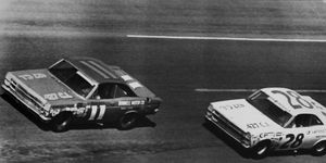 Mario Andretti's lone win in the NASCAR Sprint Cup Series came in the 1967 Daytona 500 for Ford.