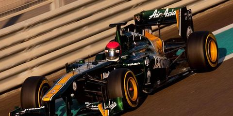 Alexander Rossi, test driver for its Formula One team, will continue to race in the Renault 3.5 series with Caterham.