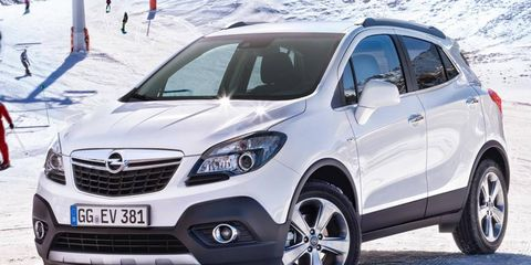 General Motors has been looking for partners to help it cut costs in Europe. Opel showed the Mokka concept crossover at the Geneva motor show.
