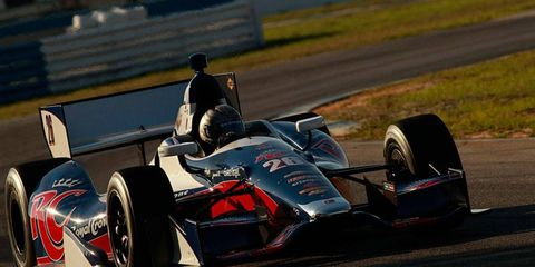 Marco Andretti represents one of the younger faces of IndyCar racing as the series looks to take a step forward this season.
