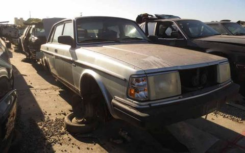 The Volvo 240 was extremely popular in Northern California
