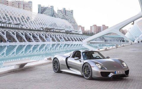 First look at the Porsche 918 Spyder.