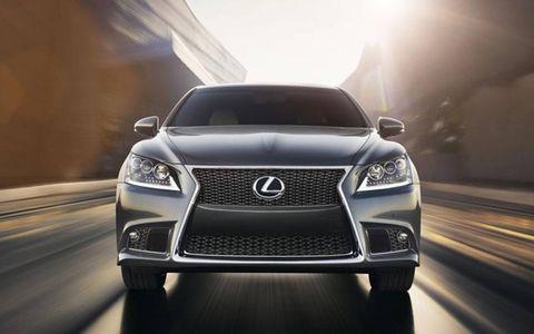 The 2013 Lexus LS 460 F Sport starts at $75,830.
