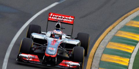 Jenson Button had a strong showing at practice in Melbourne Friday. However, he's still unsure as to what he can expect from the other drivers for Sunday's race.
