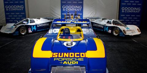 This 1973 Porsche 917/30 Can-Am Spyder sold for $4.4 million.