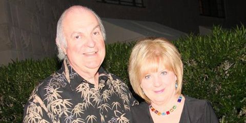Automotive journalist Patrick Paternie and his wife, Linda.