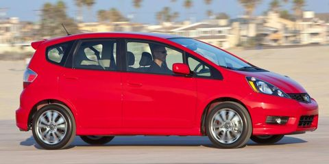 Honda sold 59,235 Fits in the United States in 2011.