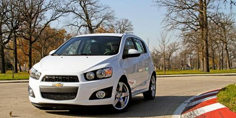 The Sonic surprised me. It's a solid, fun car to drive and the interior is spacious. - Executive Editor Roger Hart