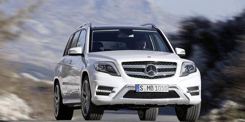 The 2013 Mercedes GLK gets revised styling and a diesel variant.