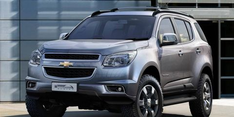 The Chevrolet Trailblazer is based on the platform from the Colorado pickup.