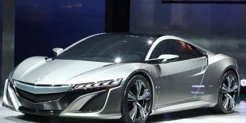 Honda Performance Development is not saying where or when the Acura NSX will race.