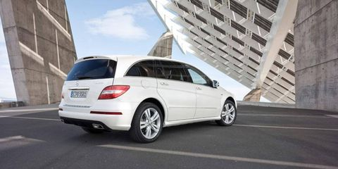 Mercedes dealers sold 293 copies of the R-class through the first two months of this year, one-third less than the number sold in the first two months of 2011.