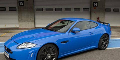 My MegaMillions garage would definitely contain a Jaguar XKR-S.