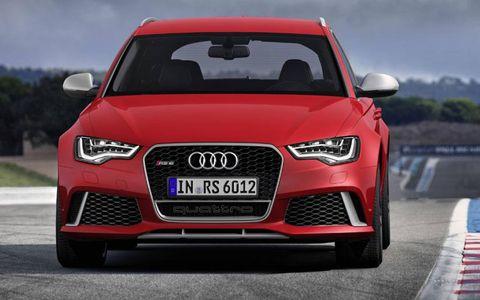 The Audi RS6 Avant gets a debut at the Detroit auto show.
